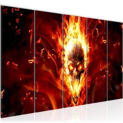 Feuer BILD KUNSTDRUCK  - AUF VLIES LEINWAND - XXL DEKORATION  402355P  Bild 2