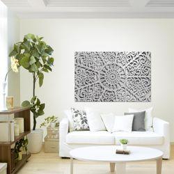 Mandala Abstrakt BILD KUNSTDRUCK  - AUF VLIES LEINWAND - XXL DEKORATION  506131P  Bild 3