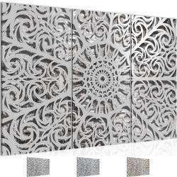 Mandala Abstrakt BILD KUNSTDRUCK  - AUF VLIES LEINWAND - XXL DEKORATION  506131P  Bild 1