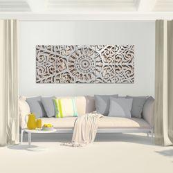 Mandala Abstrakt BILD KUNSTDRUCK  - AUF VLIES LEINWAND - XXL DEKORATION  506155P  Bild 6