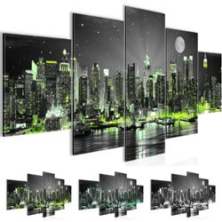 New York City BILD KUNSTDRUCK  - AUF VLIES LEINWAND - XXL DEKORATION  60525P  001