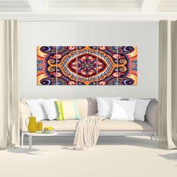 Mandala Abstrakt BILD KUNSTDRUCK  - AUF VLIES LEINWAND - XXL DEKORATION  506755P  Bild 6