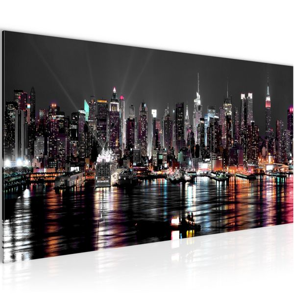 New York City BILD KUNSTDRUCK  - AUF VLIES LEINWAND - XXL DEKORATION  601912P