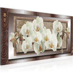 Blumen Orchidee BILD KUNSTDRUCK  - AUF VLIES LEINWAND - XXL DEKORATION  205412P  Bild 2