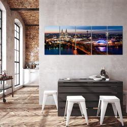 Köln BILD KUNSTDRUCK  - AUF VLIES LEINWAND - XXL DEKORATION  601555P  Bild 5