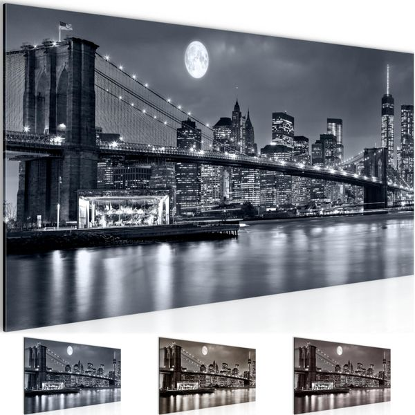 New York City BILD KUNSTDRUCK  - AUF VLIES LEINWAND - XXL DEKORATION  606712P