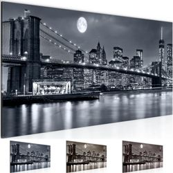 New York City BILD KUNSTDRUCK  - AUF VLIES LEINWAND - XXL DEKORATION  606712P  001