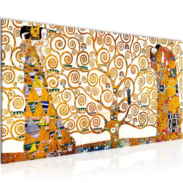 Gustav Klimt - Tree of Life BILD KUNSTDRUCK  - AUF VLIES LEINWAND - XXL DEKORATION  700012P