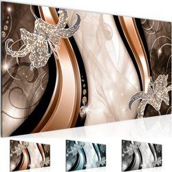 Blumen Lilien BILD KUNSTDRUCK  - AUF VLIES LEINWAND - XXL DEKORATION  202812P  Bild 1