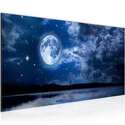 Landschaft Mond BILD KUNSTDRUCK  - AUF VLIES LEINWAND - XXL DEKORATION  607512P  Bild 2