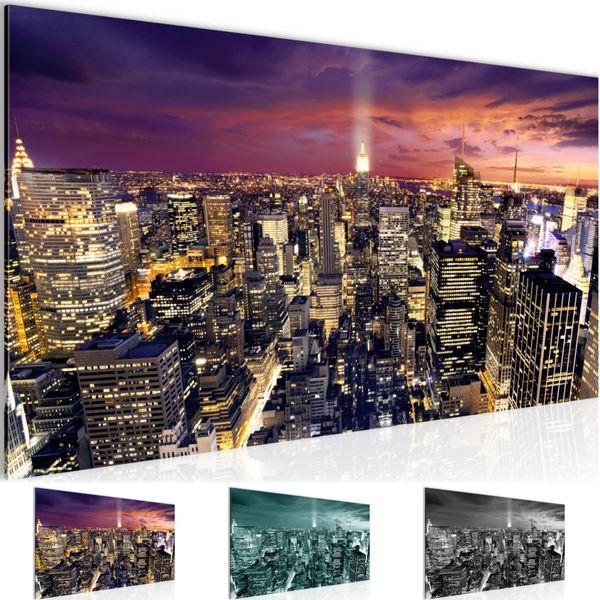 New York City BILD KUNSTDRUCK  - AUF VLIES LEINWAND - XXL DEKORATION  604512P