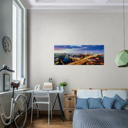 Stadt Berlin BILD KUNSTDRUCK  - AUF VLIES LEINWAND - XXL DEKORATION  605112P  Bild 7