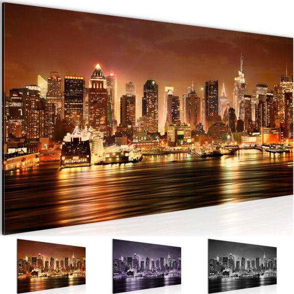 New York City BILD KUNSTDRUCK  - AUF VLIES LEINWAND - XXL DEKORATION  612212P