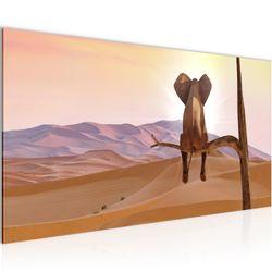 Afrika Elefant BILD KUNSTDRUCK  - AUF VLIES LEINWAND - XXL DEKORATION  002012P  Bild 2