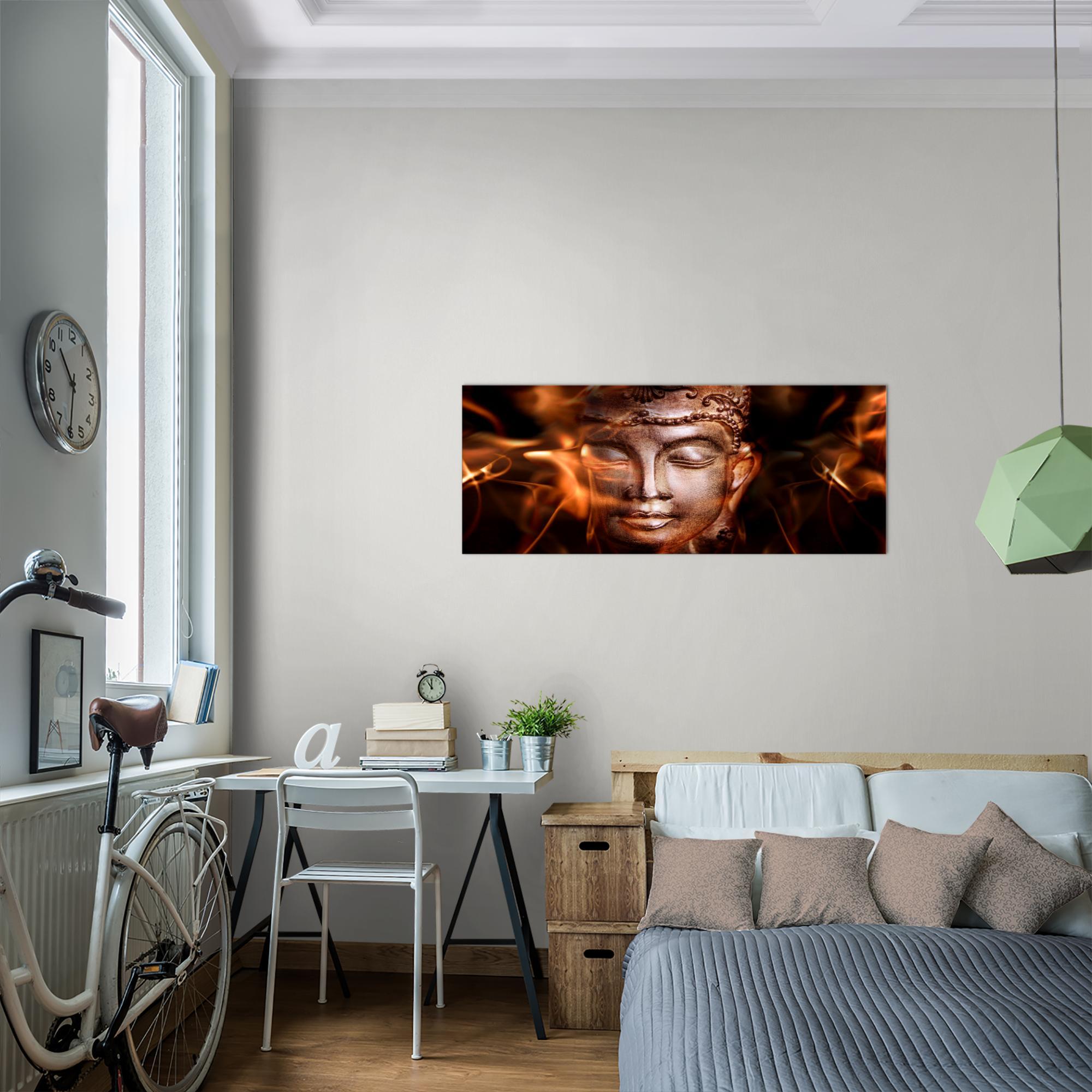WANDBILDER Buddha Feng Shui VLIES LEINWAND BILD XXL BILDER KUNSTDRUCK 502412P