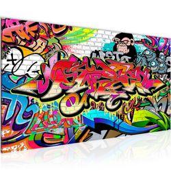 Graffiti Street Art BILD KUNSTDRUCK  - AUF VLIES LEINWAND - XXL DEKORATION  401712P  Bild 2