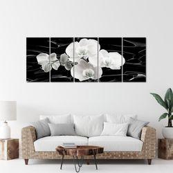 Blumen Orchidee BILD KUNSTDRUCK  - AUF VLIES LEINWAND - XXL DEKORATION  203255P  Bild 6