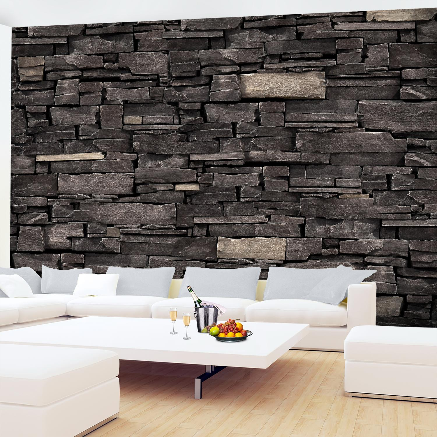 steinwand vlies foto wandtapete xxl dekoration runa 9107cp. Black Bedroom Furniture Sets. Home Design Ideas