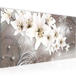Blumen Magnolien BILD KUNSTDRUCK  - AUF VLIES LEINWAND - XXL DEKORATION  006212P  Bild 1