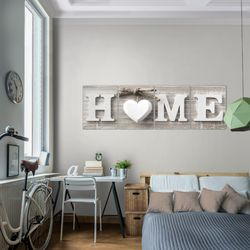 Home Herz BILD KUNSTDRUCK  - AUF VLIES LEINWAND - XXL DEKORATION  504446P  Bild 7