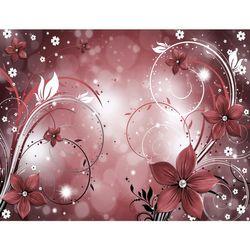 Blumen Abstrakt VLIES FOTO WANDTAPETE - XXL DEKORATION RUNA  9205cP  Bild 2