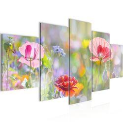 Blumen Mohnblume BILD KUNSTDRUCK  - AUF VLIES LEINWAND - XXL DEKORATION  00755P  Bild 1
