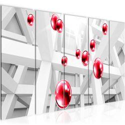 3D - Kugeln BILD KUNSTDRUCK  - AUF VLIES LEINWAND - XXL DEKORATION  014355P  Bild 2