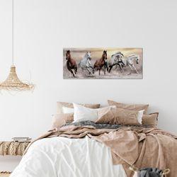 Pferde BILD KUNSTDRUCK  - AUF VLIES LEINWAND - XXL DEKORATION  014112P  Bild 7