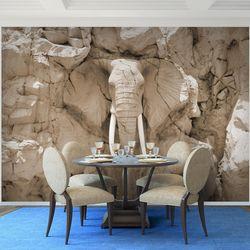 Elefant Afrika VLIES FOTO WANDTAPETE - XXL DEKORATION RUNA  9398bP  Bild 7