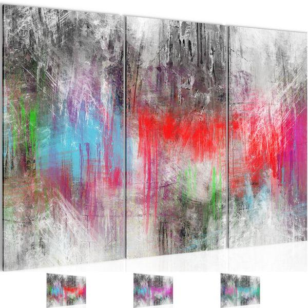 Abstrakt BILD KUNSTDRUCK  - AUF VLIES LEINWAND - XXL DEKORATION  019031P