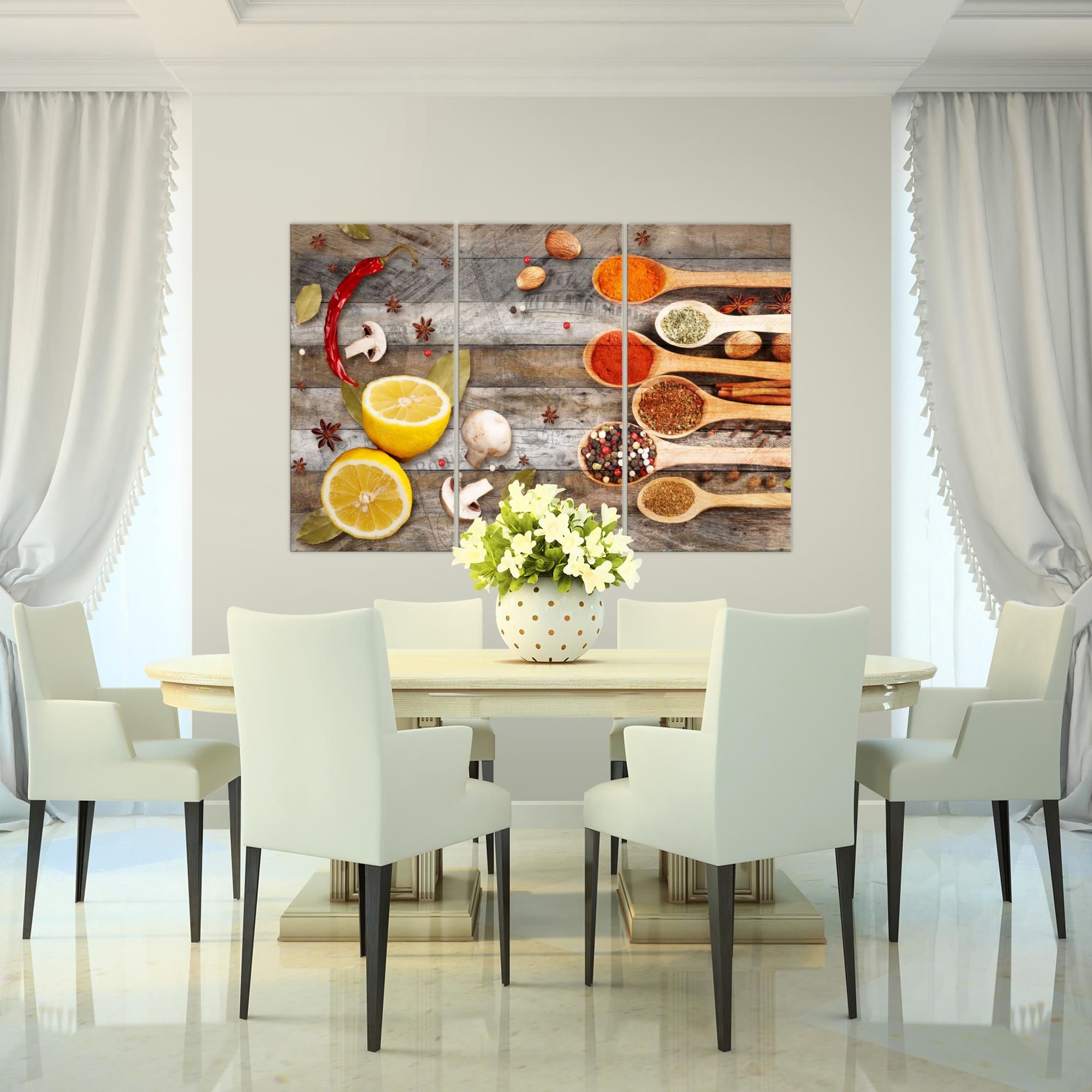 k che gew rze bild kunstdruck auf vlies leinwand xxl dekoration 019631p. Black Bedroom Furniture Sets. Home Design Ideas