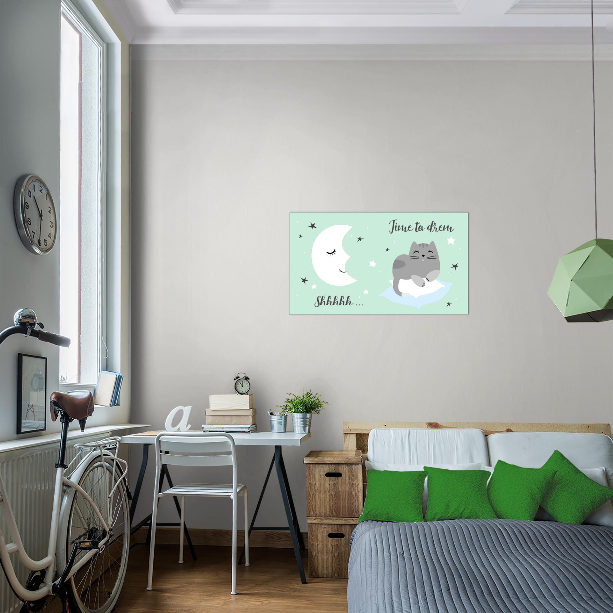Kinderzimmer tier bild kunstdruck auf vlies leinwand xxl dekoration 018614p - Kinderzimmer dekoration ...
