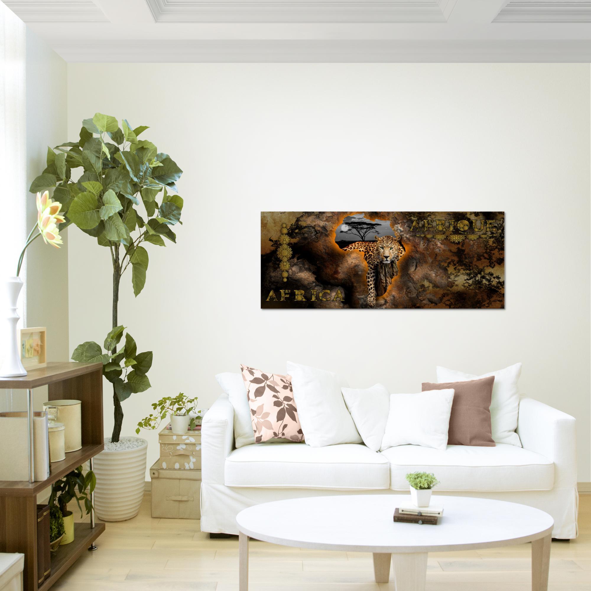 Afrika bild kunstdruck auf vlies leinwand xxl dekoration 022612p - Dekoration afrika ...