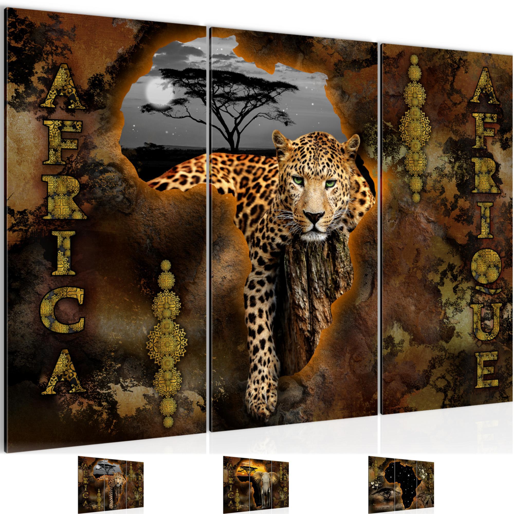 Afrika bild kunstdruck auf vlies leinwand xxl dekoration 022631p - Dekoration afrika ...