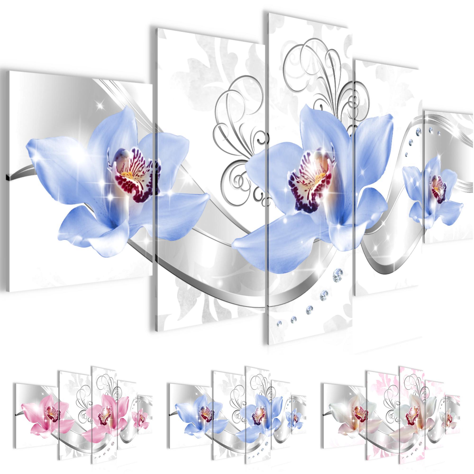 blumen lilie bild kunstdruck auf vlies leinwand xxl dekoration 02315p. Black Bedroom Furniture Sets. Home Design Ideas
