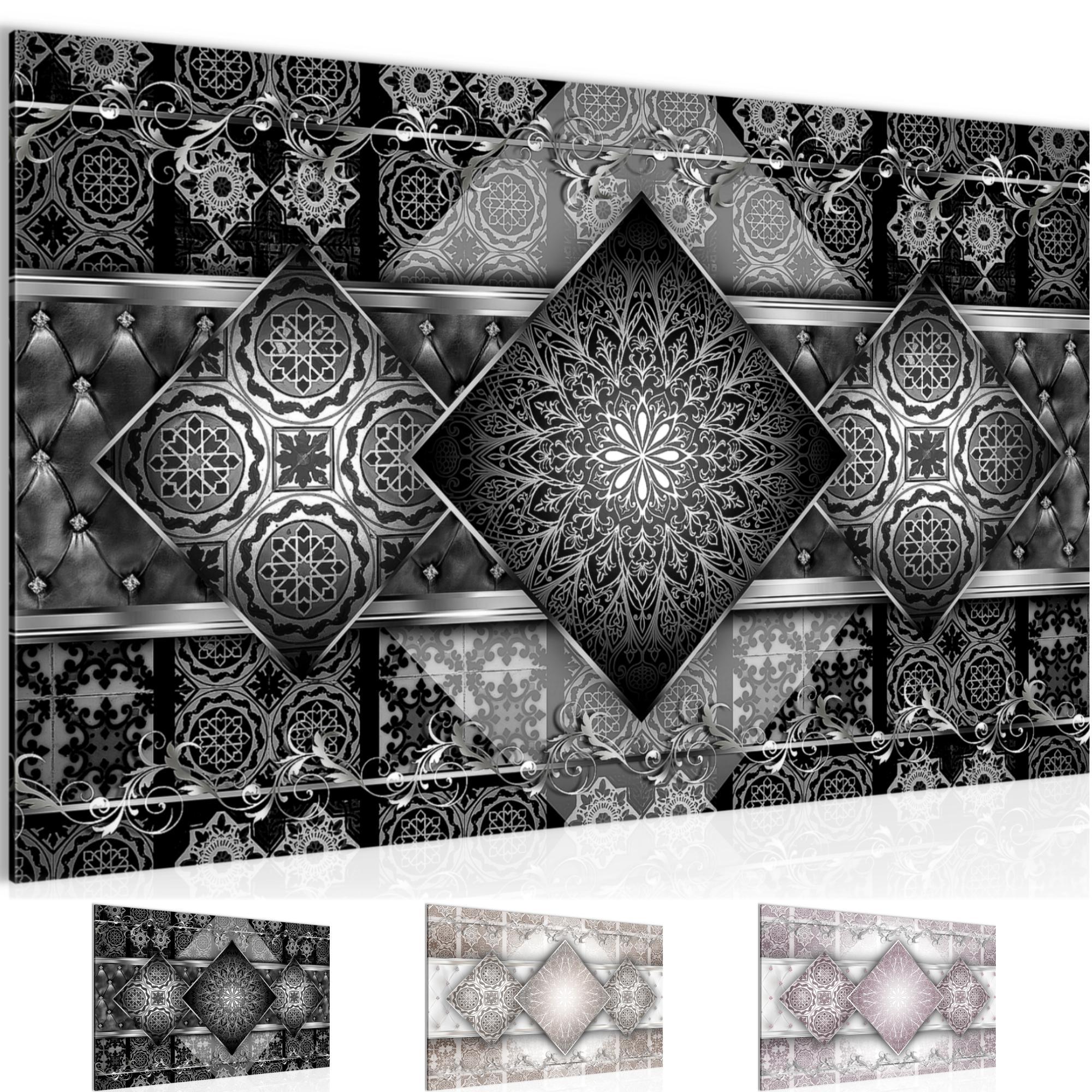 Abstrakt Mandala Bild Kunstdruck Auf Vlies Leinwand Xxl