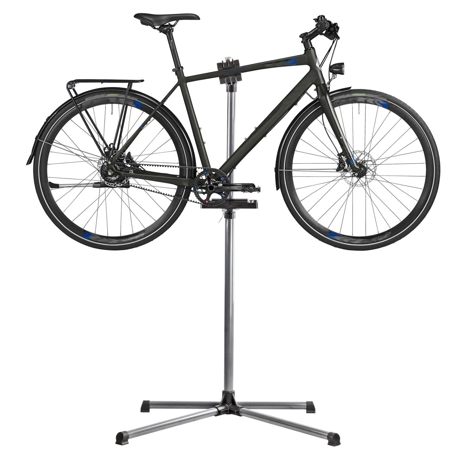 Fahrradreparatur & Werkzeug Fahrradständer Fahrradmontageständer Montageständer PROFI 360°verstellbar Eufab Montageständer
