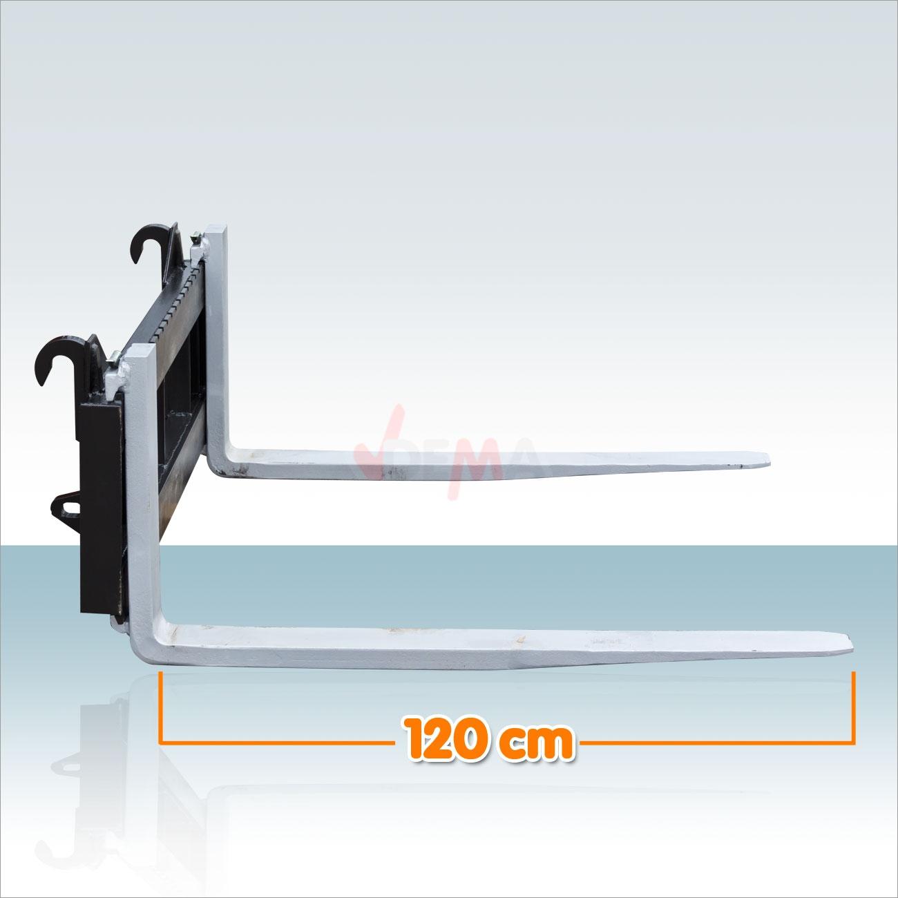 palettengabel staplergabel mit schild f r frontlader 1 5 t. Black Bedroom Furniture Sets. Home Design Ideas