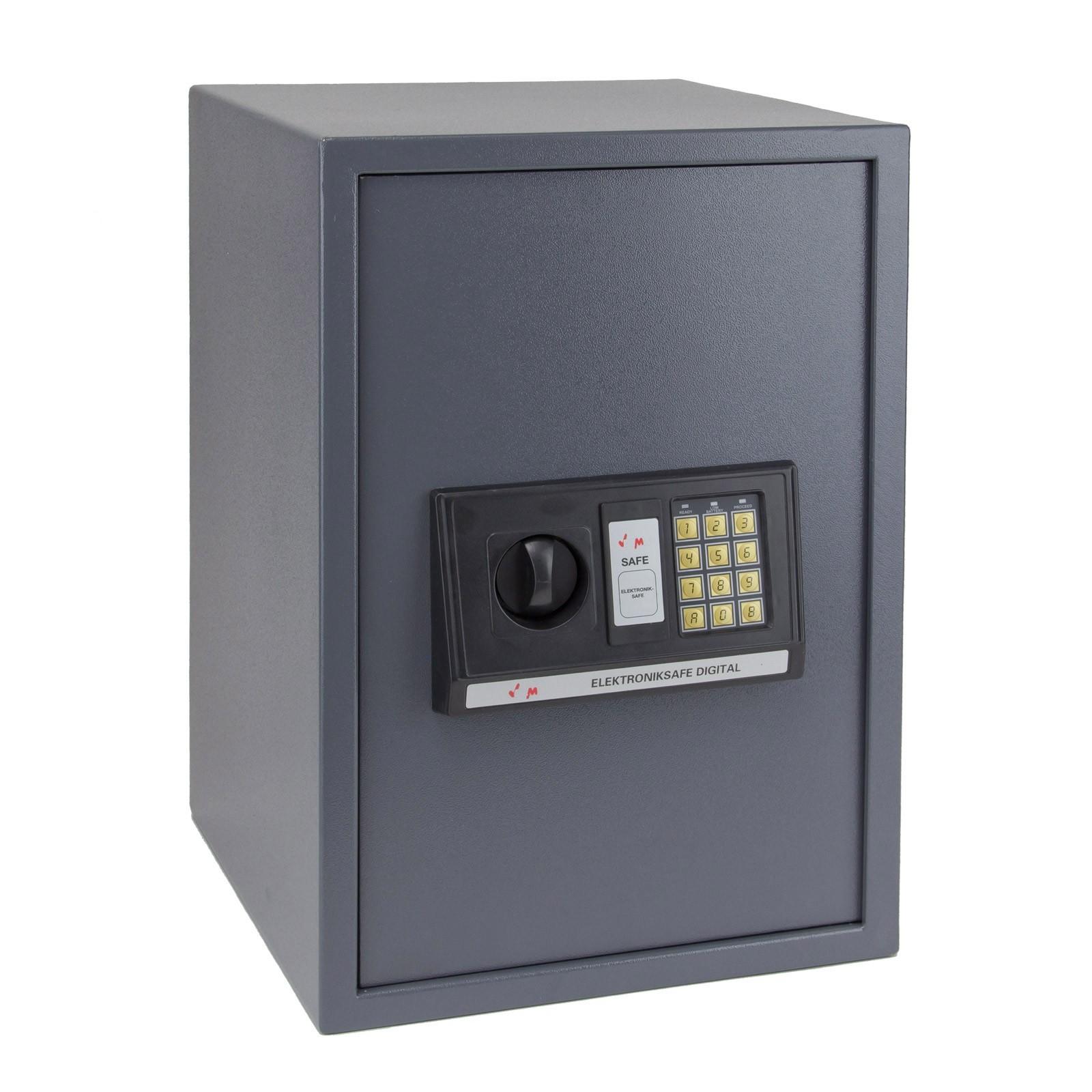 Dema Möbeltresor Wandtresor Tresor Safe Wandsafe Digital 65L 35x36x52cm 20945