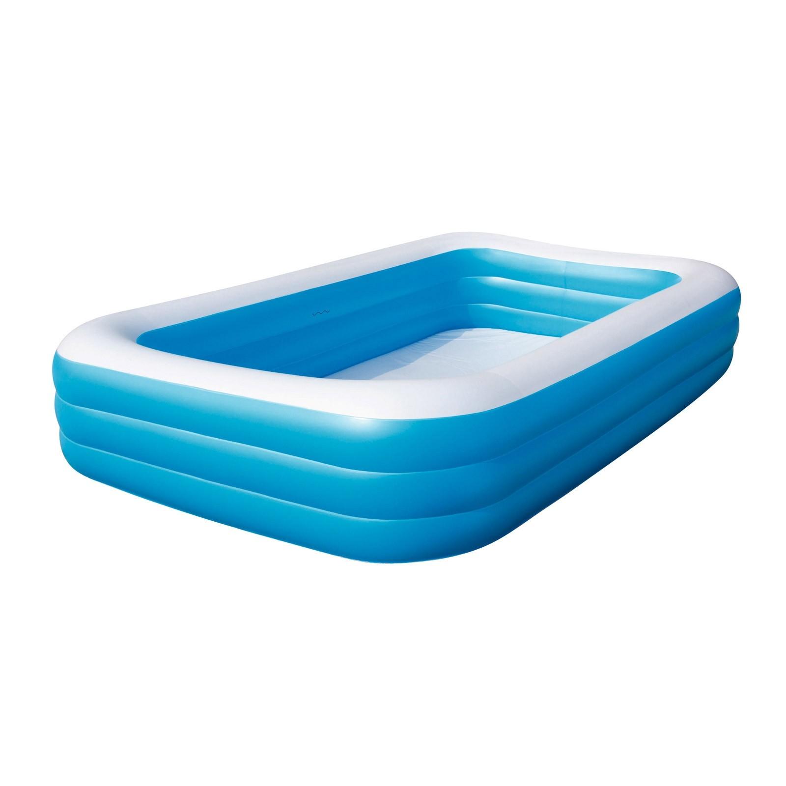 swimmingpool planschbecken swimming pool gartenpool schwimmbecken 305x183x56 cm ebay. Black Bedroom Furniture Sets. Home Design Ideas