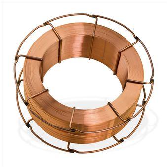 Schweißdraht / Kupferschweißdraht 1 mm 15 kg für Schweißgerät – Bild $_i