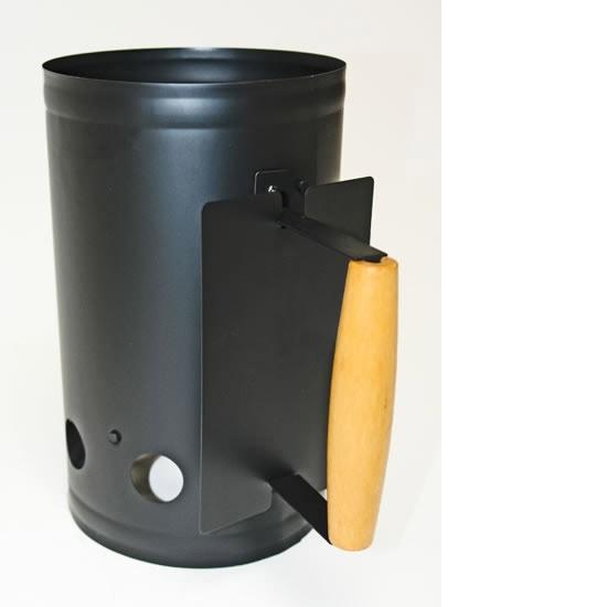 Dema Metall Kohleanzünder Kaminanzünder Anzündkamin Grillanzünder Grill 5L Holzkohle 17491
