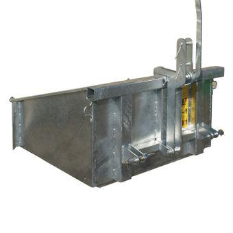 Heckcontainer / Heckmulde verzinkt 120 cm – Bild $_i