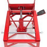 Motorradheber / Motorradständer hydraulisch 135 kg