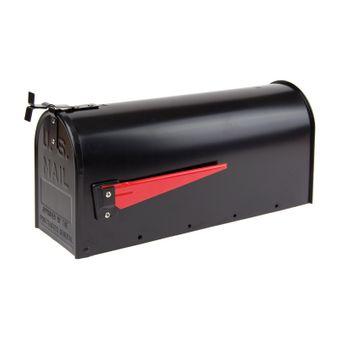 Amerikanischer Briefkasten / American Mailbox aus Alu schwarz – Bild $_i