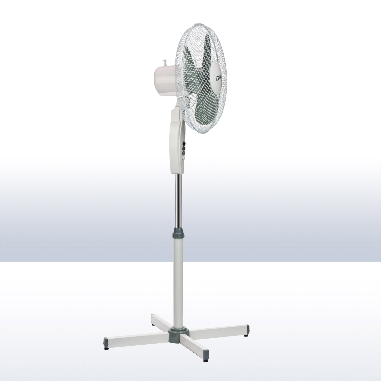 stand ventilator standventilator sv 45 cm hochwertig ger uscharm mit standfu ebay. Black Bedroom Furniture Sets. Home Design Ideas