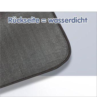 Picknickdecke / Fleecedecke 190x130 cm Kariert Rouge – Bild $_i