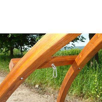 Holz Hängemattengestell / Gestell Hängematte BRÜCKE 300 kg – Bild $_i