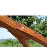 Holz Hängemattengestell / Gestell Hängematte BRÜCKE 300 kg