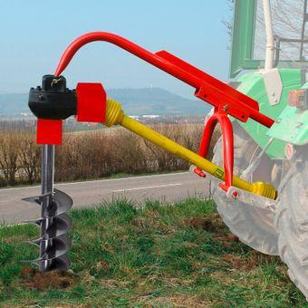Zapfwellen Erdbohrer / Pfahlbohrer 300 mm mit Zapfwelle im Set